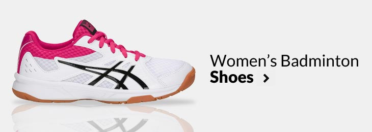 Badminton Racket, Shoes and