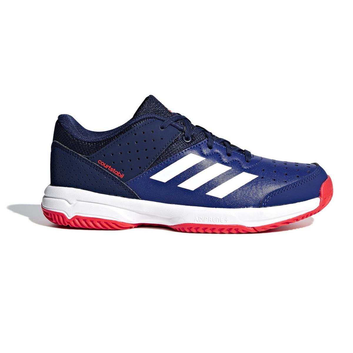 Adidas Direct Court Badminton Shoes Stabil Orange blue Junior rr6UwY