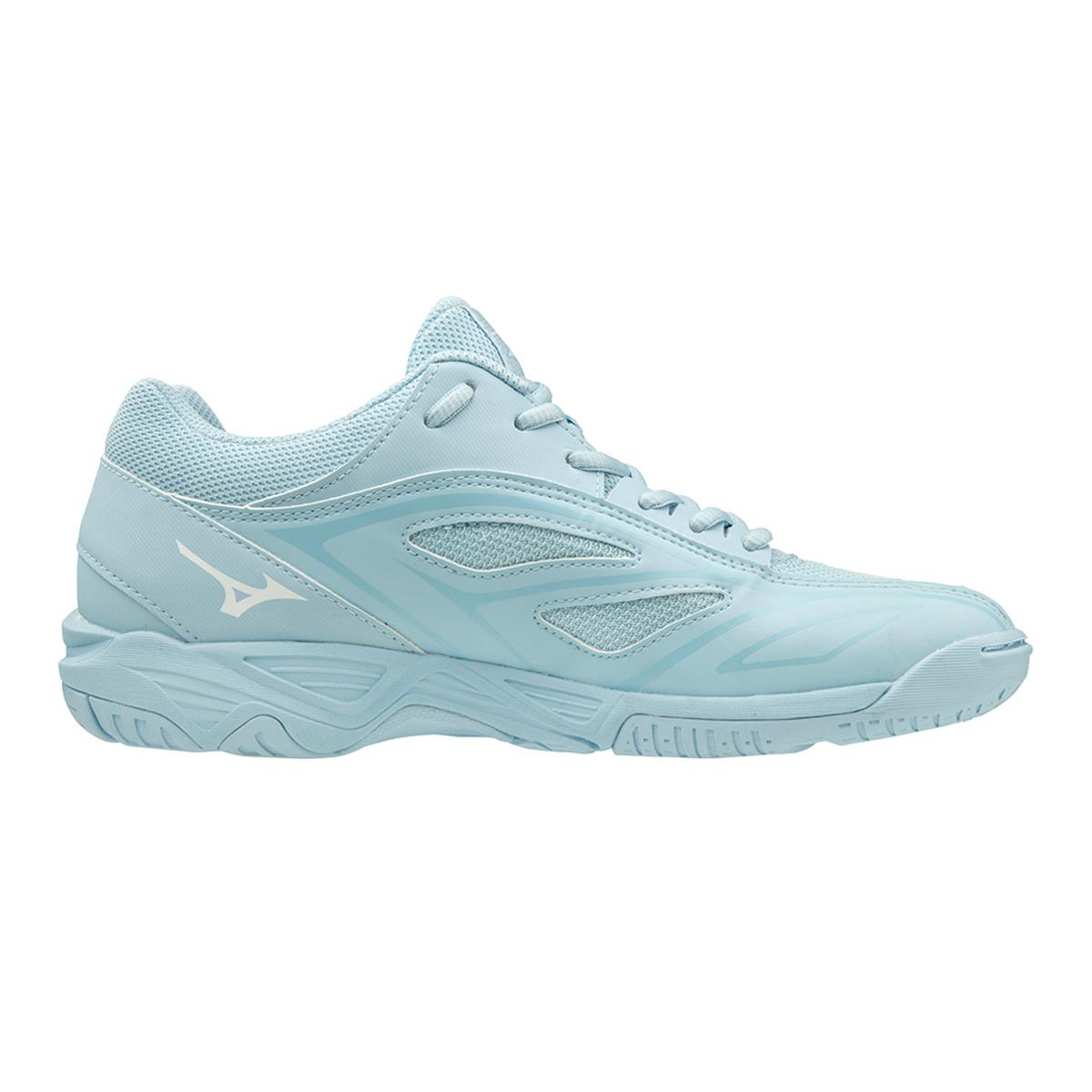 bien style de mode En liquidation Mizuno Mirage Star 2 Junior Court Shoes (Cool Blue-White-Angel Falls) |  Direct Badminton