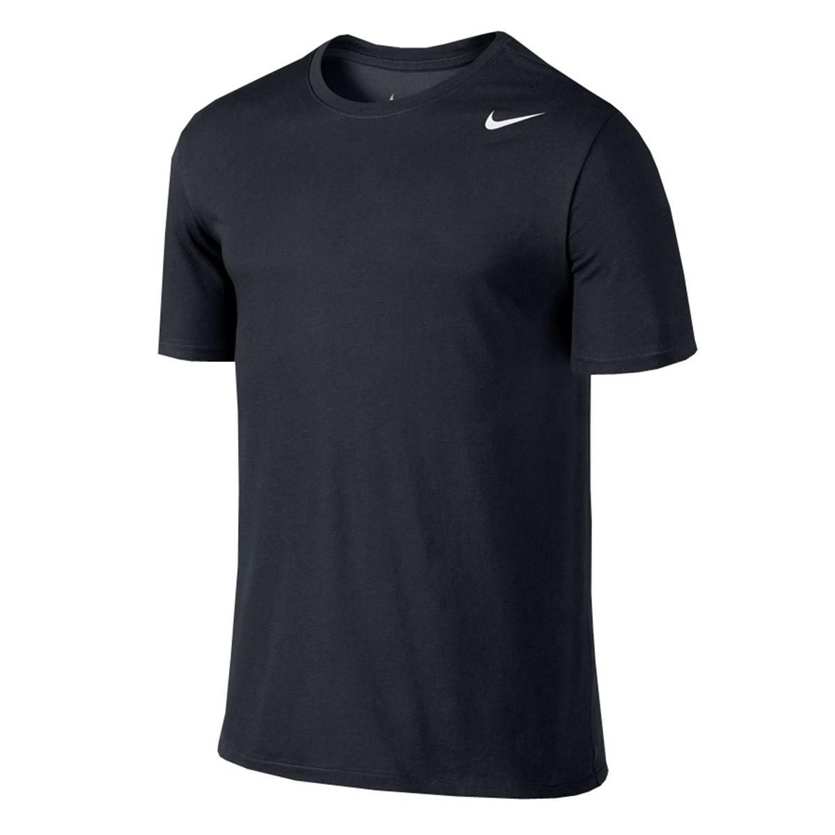 Nike Dri Fit Mens T Shirt Black Direct Badminton