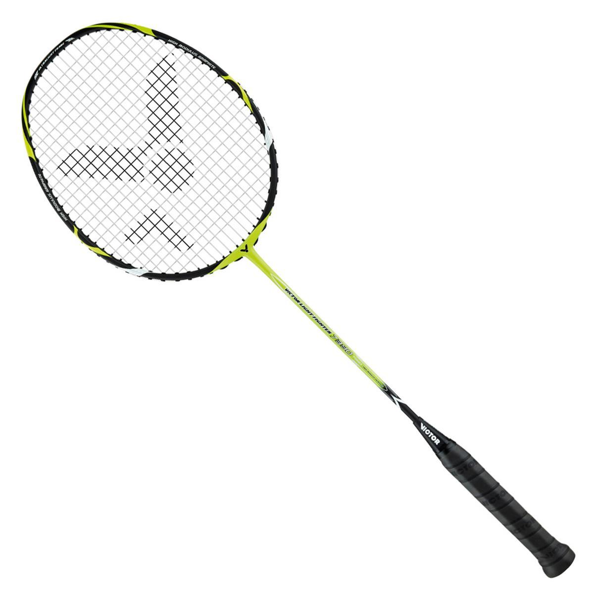 victor light fighter 7390 badminton racket
