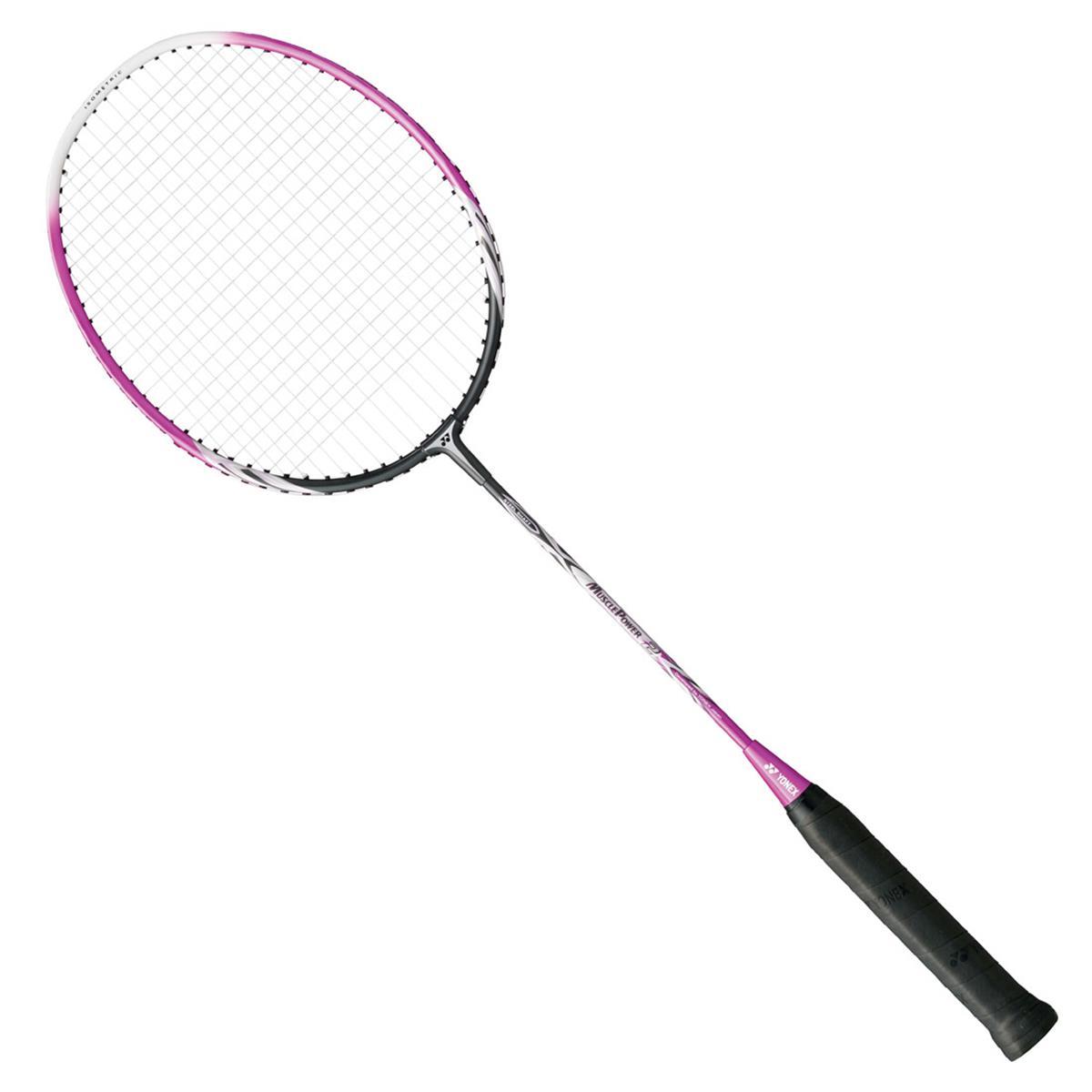Yonex Muscle Power 2 Badminton Racket (Dark Gun-Pink ...