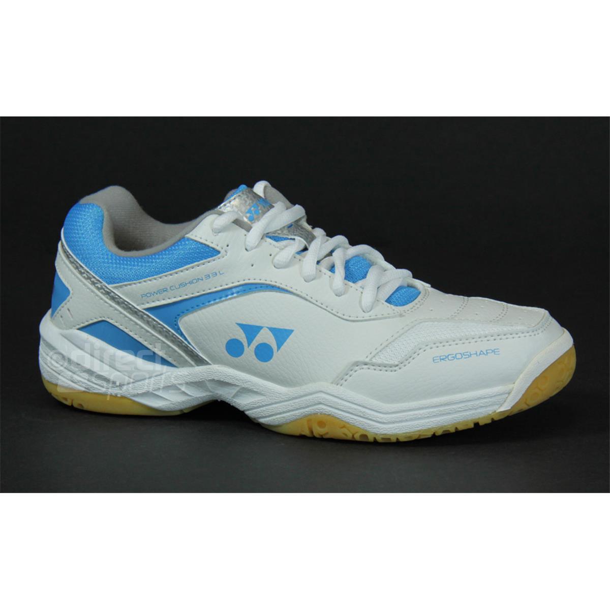 Creative  Power Cushion SHBF1 LX SHBF1LX 2012 Aqua Blue Women Badminton Shoes