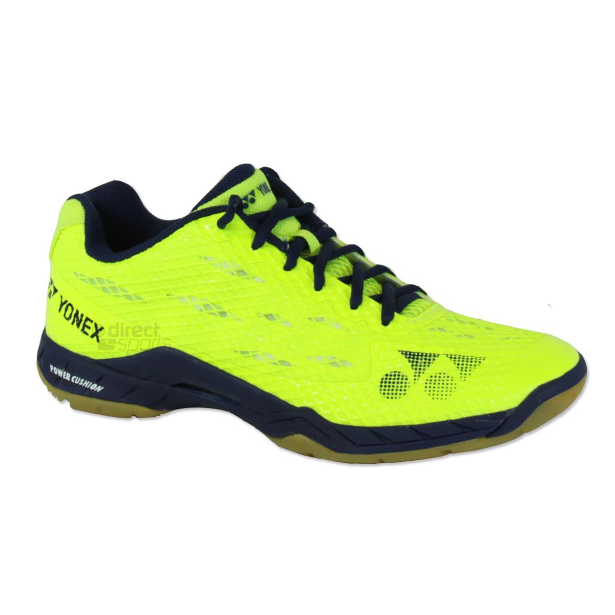 Yonex Power Cushion Aerus Mens Badminton Shoes Yellow