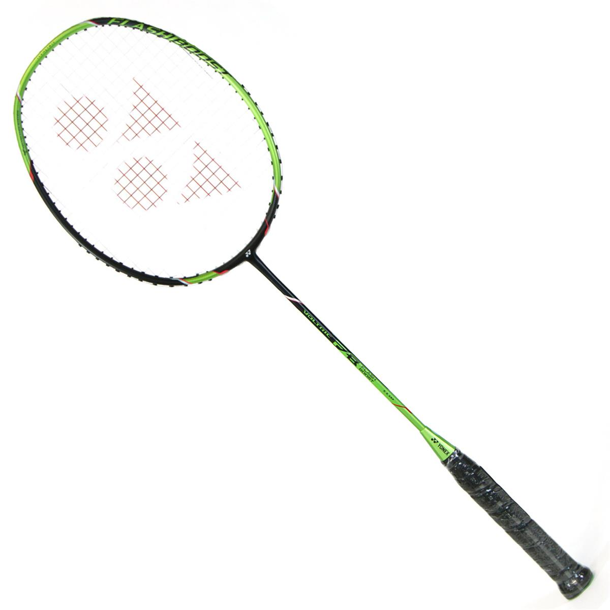 yonex voltric flash boost  f  badminton racket  black