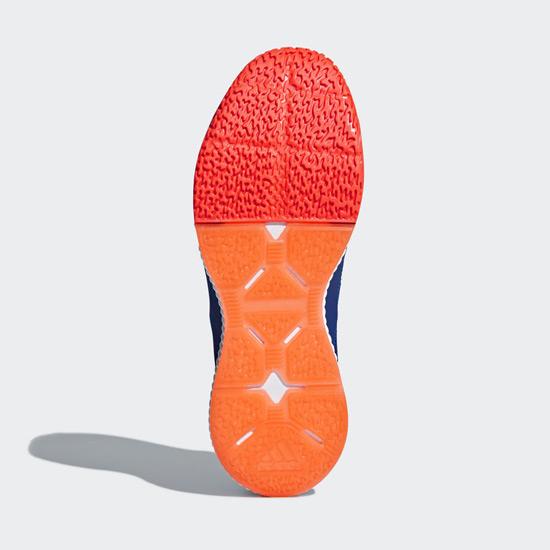 ea88e8a7f adidas Stabil Bounce Court Shoes (Blue-Orange)