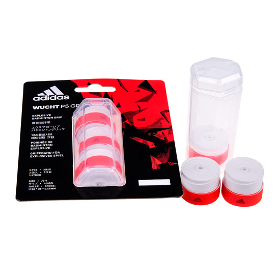 Adidas Wucht Overgrip 3 Pack (White)