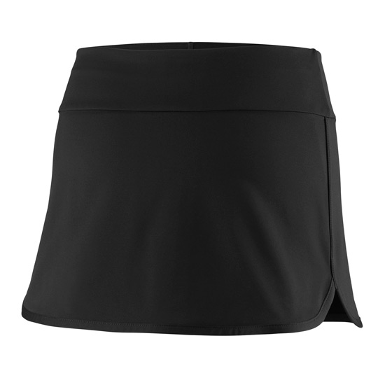 Wilson Team 11 Inch Girls Skirt (Black)