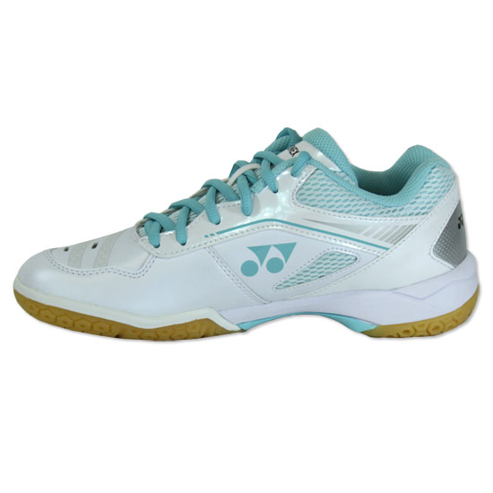 Yonex Power Cushion 65XL Womens Badminton Shoes (White-Mint)