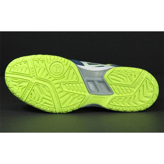 d064ec982e Asics Gel Hunter 3 Mens Court Shoes (Poseidon-White-Safety Yellow)   Direct  Badminton