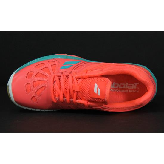 47acc02e23a Babolat Shadow 2 Womens Court Shoes (Fluor Pink)