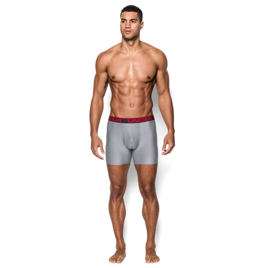 Under Armour The Original 6 Inch BoxerJock (True Grey)
