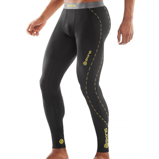 60bfb3fb59 Skins DNAmic Core Mens Compression Long Tights (Black) | Direct ...