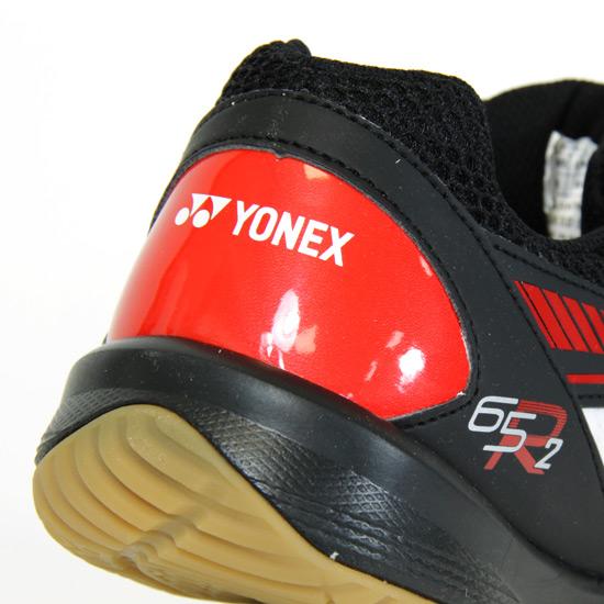 Yonex Power Cushion 65R 2 Mens Badminton Shoe (White-Black)  b3dcd9f16