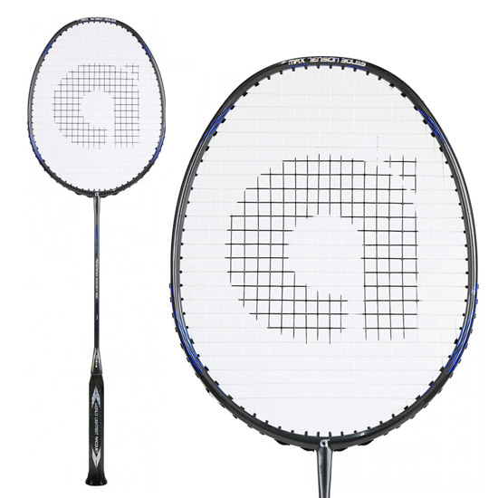 Apacs Feather Weight 500 Badminton Racket with Free Single Racket Cover and Grip (Navy)