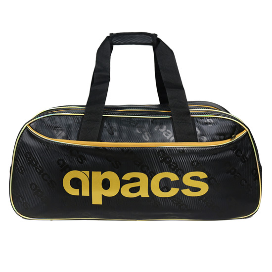 Apacs REC801 Double Compartment Racket Bag (Black-Gold)