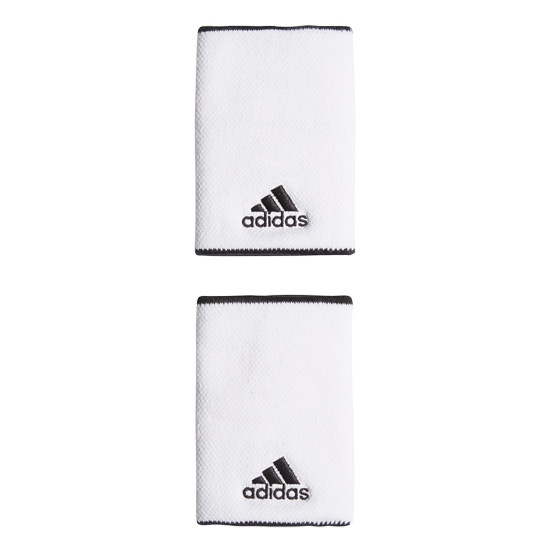 Adidas Large Wristbands (White)