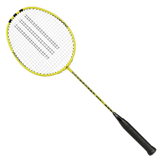 Adidas Spieler E06 Metal Badminton Racket (Yellow) with Free 3/4 Head Cover