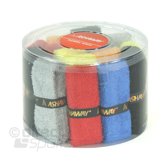 Ashaway Towelling Grips (Box of 16) Assorted