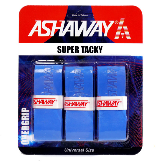 Ashaway Super Tacky 3-Pack Overgrip (Blue)
