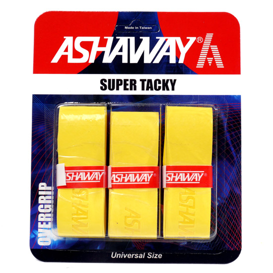 Ashaway Super Tacky 3-Pack Overgrip (Yellow)