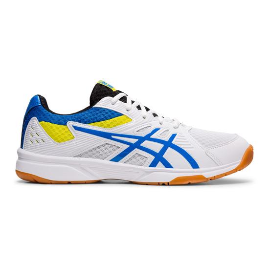 d817800ff06 Asics Gel Upcourt 3 Mens Court Shoes (White-Electric Blue)   Direct ...