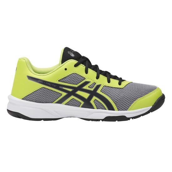 0cb9a7333 Asics Gel Tactic 2 Junior Court Shoes (Aluminium-Energy Green ...