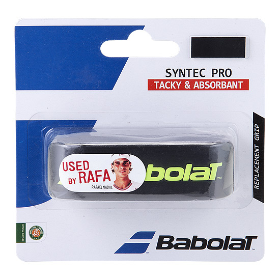 Babolat Syntec Pro Replacement Grip (Black-Yellow)