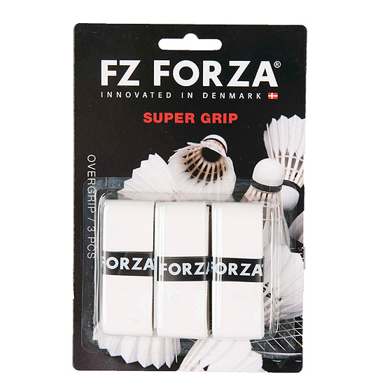 Forza Super Grip 3 Pack (White)