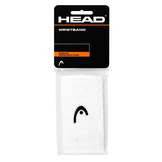 Head 5 Inch Wristband (White)