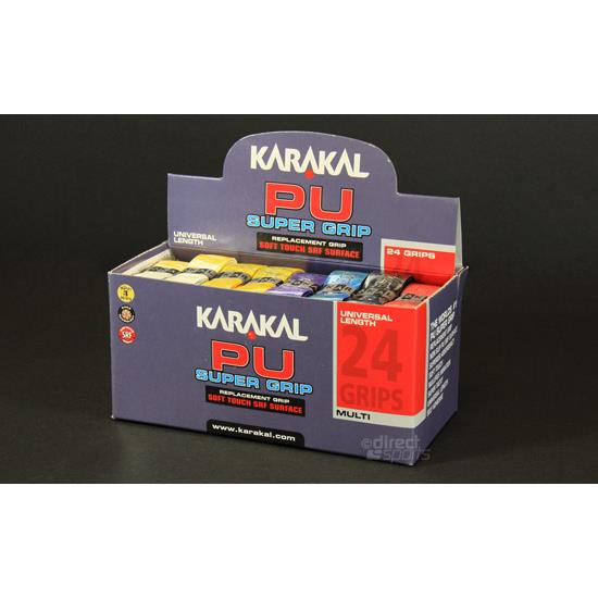 Karakal PU Super Grip Box of 24 (Marble Effect)