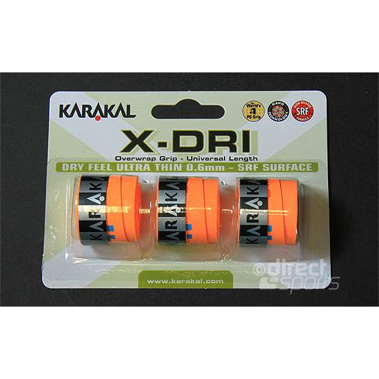 Karakal X-Dri Overgrip (Orange)