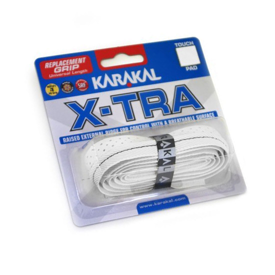 Karakal X-Tra Replacement Grip (White)