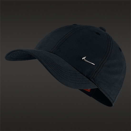 Nike Heritage 86 Junior Cap (Black)