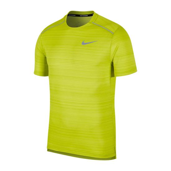 67e5f5dda Nike Dry Miler Mens T-Shirt (Bright Cactus) | Direct Badminton