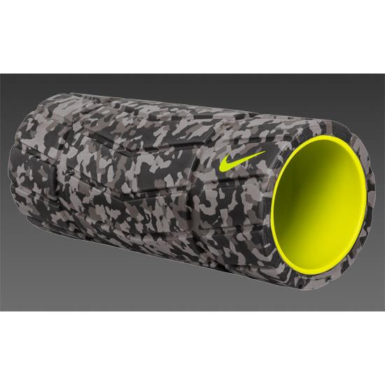 Nike Textured Foam Roller (Grey-Volt)