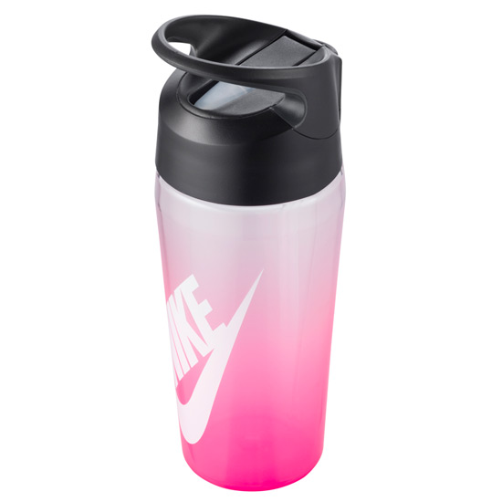 Nike TR Hypercharge Straw Waterbottle 16oz (Digital Pink-Anthracite-White)
