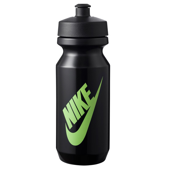 Nike Big Mouth 2.0 22oz Graphic Waterbottle (Black-Ghost Green)