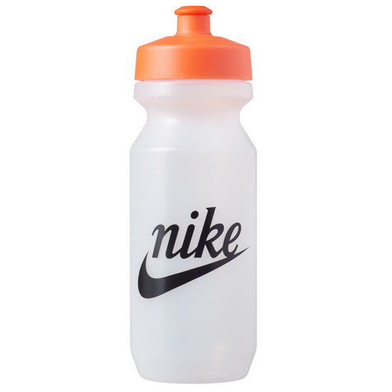 Nike Big Mouth 2.0 22oz Graphic Waterbottle (Clear-Orange)
