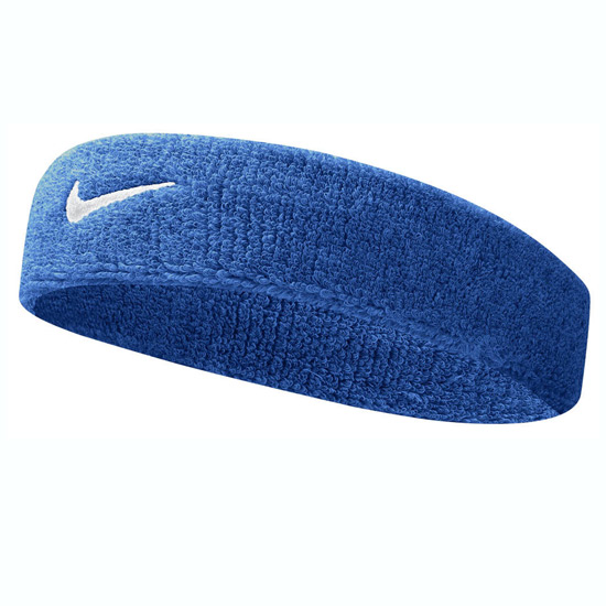 Nike Swoosh Headband (Royal Blue-White)