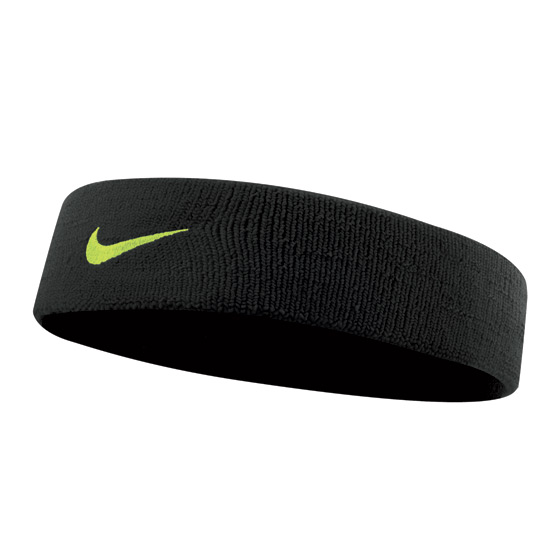 Nike Dri-Fit Headband 2.0 (Black-Volt)