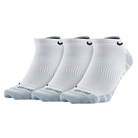 Unisex Training Socks 3 Pack white