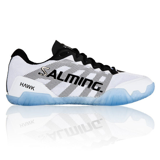 Salming Hawk Mens Court Shoes (Black-White)