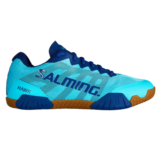 Salming Hawk Womens Court Shoes (Blue)