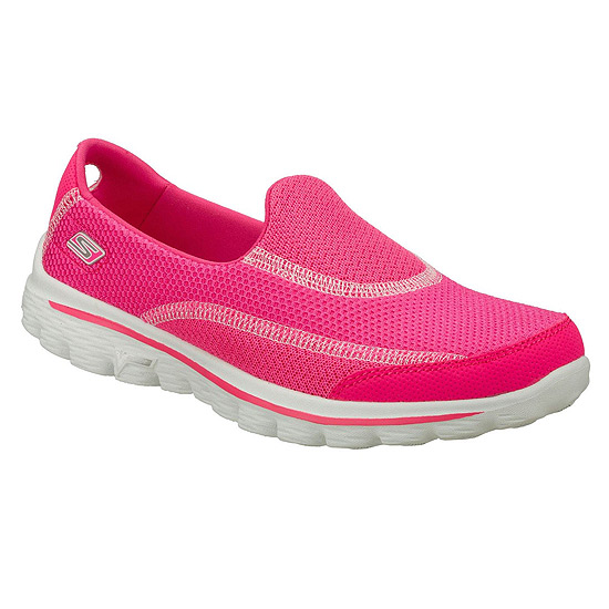 Skechers Go Walk 2 Womens Shoes (Hot