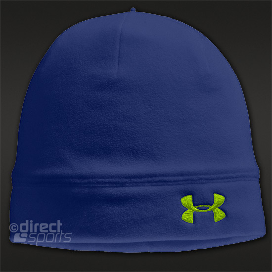 Under Armour Womens ColdGear Infrared Storm Beanie (Blue Away)
