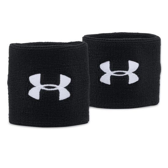 Under Armour 3-Inch Wristbands (Black)