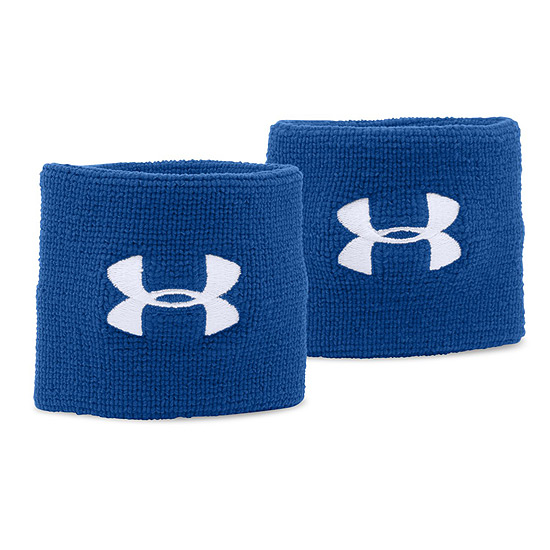 Under Armour 3-Inch Wristbands (Royal)