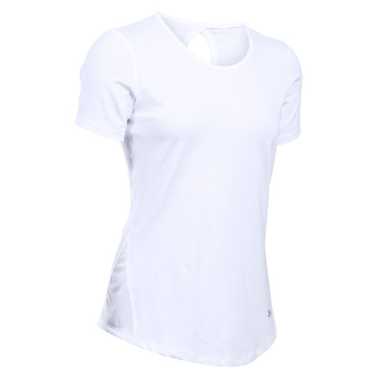 120f49f3 Under Armour CoolSwitch HeatGear Womens Tee (White) | Direct ...
