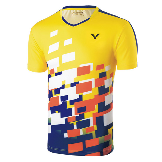 Victor Malaysia Unisex Team T-Shirt (Yellow)